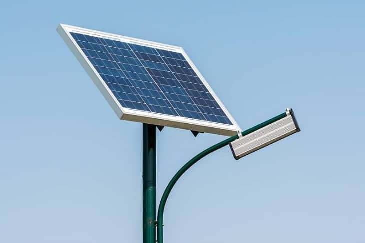 Install Solar Flood Lights