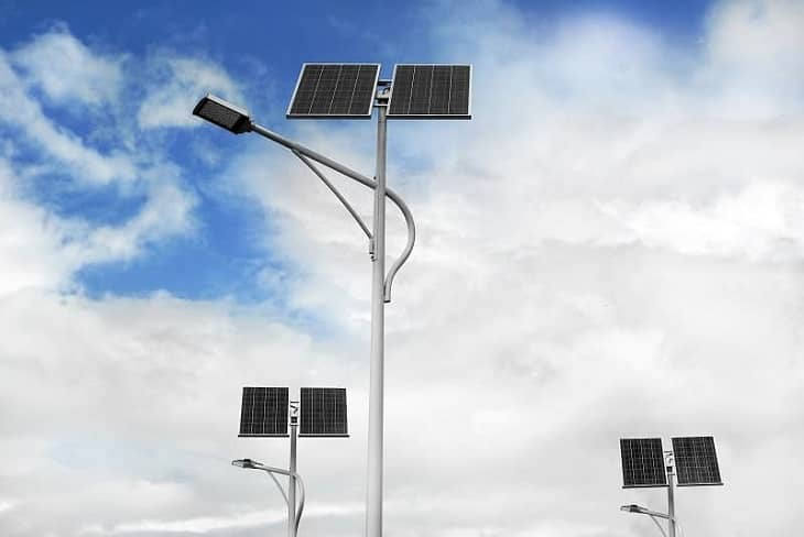 Maintenance of Solar Flood Lights